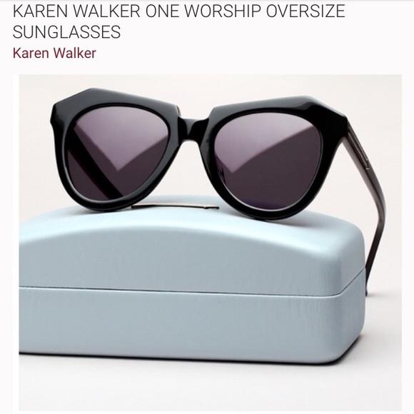 0f173a5f9c5b Karen Walker Accessories - FINAL PRICE DROP❣️Karen walker One Worship